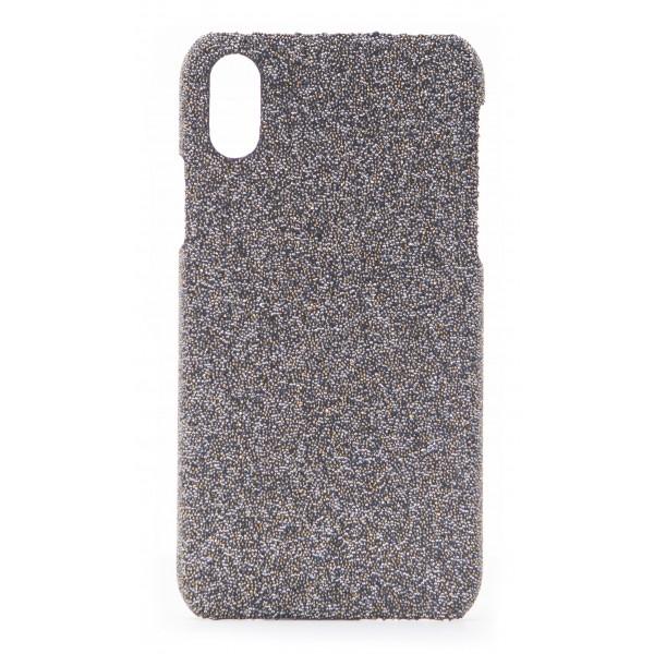 2 ME Style - Case Swarovski Crystal Fabric Golden Shadow - iPhone XR - Swarovski Crystal Cover