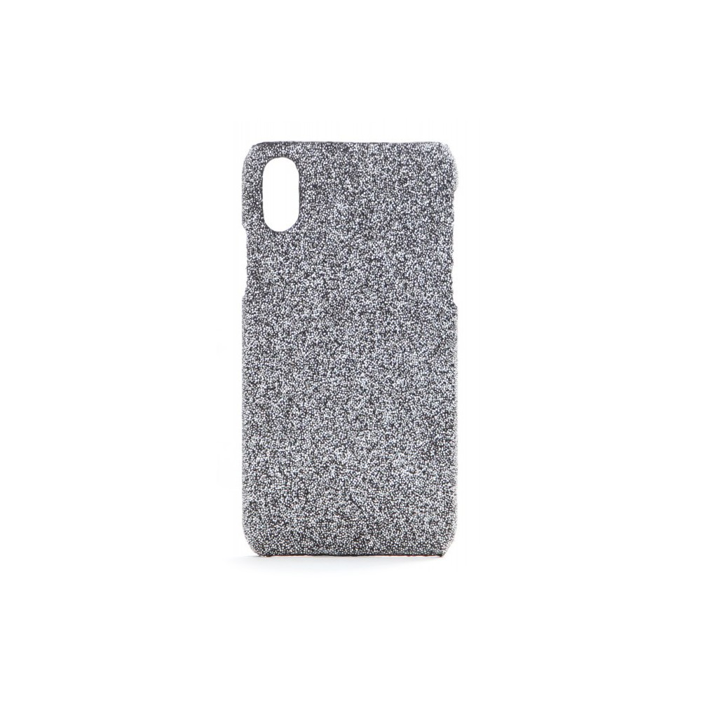 new product 65cbc d7ae8 2 ME Style - Case Swarovski Crystal Fabric Silver Shadow - iPhone XR -  Swarovski Crystal Cover