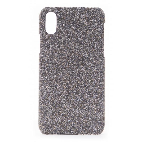 2 ME Style - Case Swarovski Crystal Fabric Golden Shadow - iPhone XS Max - Swarovski Crystal Cover
