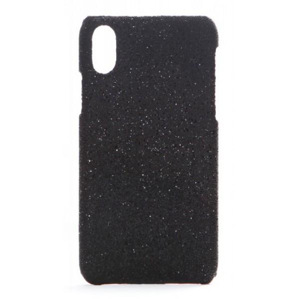 2 ME Style - Cover Swarovski Crystal Fabric Nero Shadow - iPhone XS Max - Cover in Cristalli di Swarovski