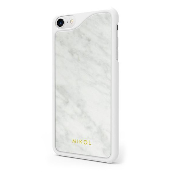 Mikol Marmi - Carrara White Marble iPhone Case - iPhone XR - Real Marble Case - iPhone Cover - Apple - Mikol Marmi Collectio