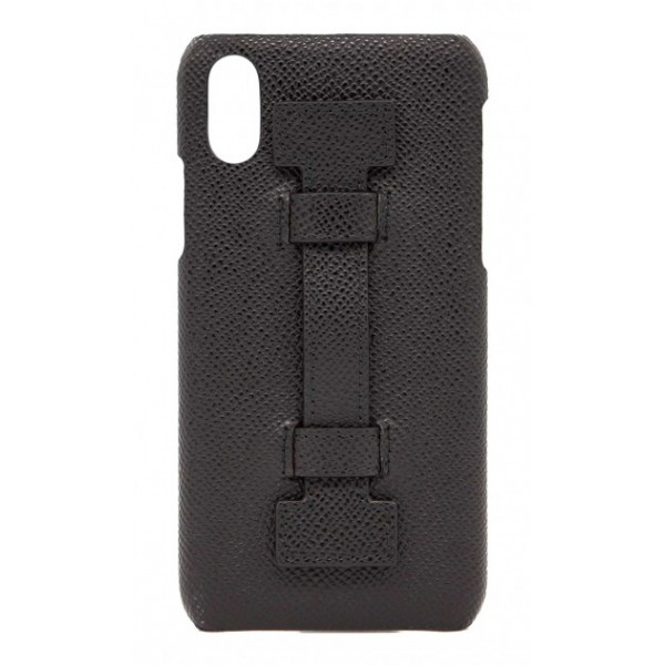 2 ME Style - Case Fingers Leather Black - iPhone XS Max - Leather Cover