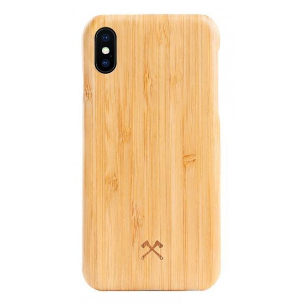 Woodcessories - Bamboo / Cevlar Cover - iPhone X / XS - Wooden Cover - Eco Case - Ultra Slim - Cevlar Collection