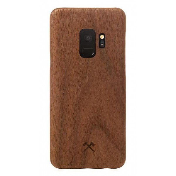 Woodcessories - Walnut / Cevlar Cover - Samsung S9 - Wooden Cover - Eco Case - Ultra Slim - Cevlar Collection