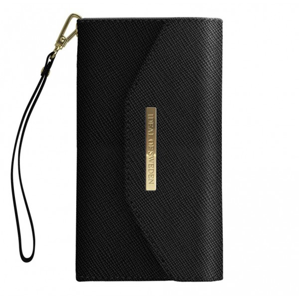 iDeal of Sweden - Mayfair Clutch Cover - Nera - iPhone X / XS - Custodia iPhone - New Fashion Collection