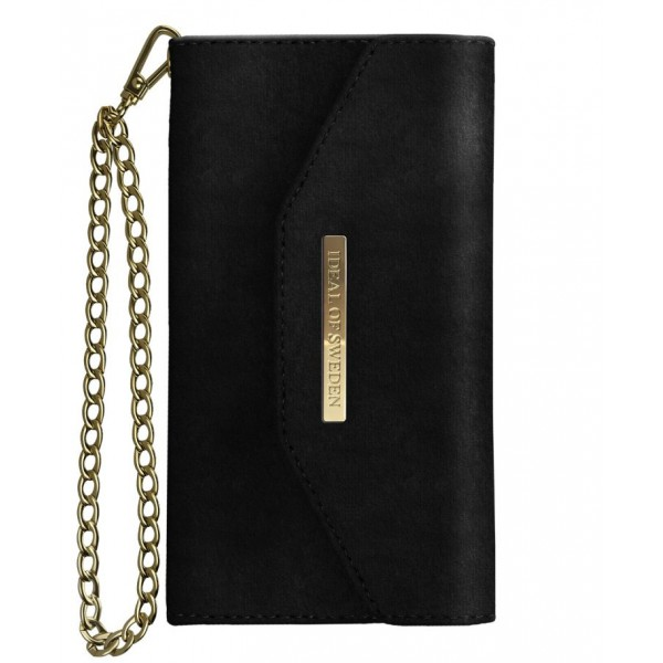 iDeal of Sweden - Mayfair Clutch Velvet Cover - Nera - iPhone X / XS - Custodia iPhone - New Fashion Collection