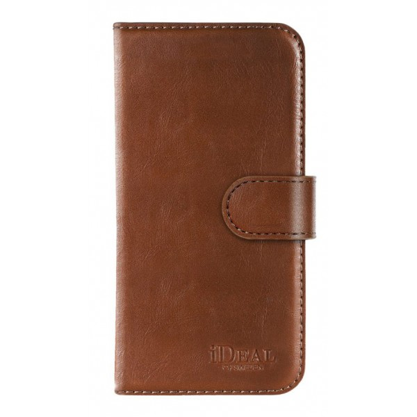 iDeal of Sweden - Magnet Wallet Cover - Brown - iPhone X / XS - iPhone Case - New Fashion Collection