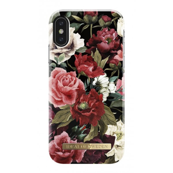 iDeal of Sweden - Fashion Case Cover - Antique Roses - iPhone X / XS - Custodia iPhone - New Fashion Collection