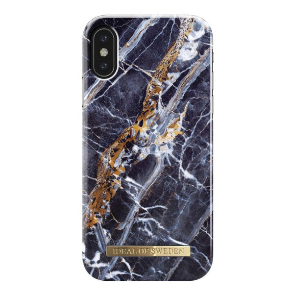 iDeal of Sweden - Fashion Case Cover - Midnight Blue Marble - iPhone X / XS - Custodia iPhone - New Fashion Collection