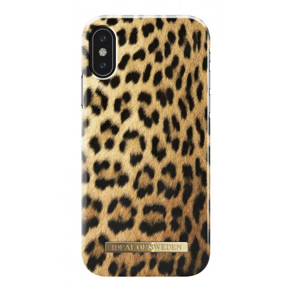 iDeal of Sweden - Fashion Case Cover - Wild Leopard - iPhone X / XS - Custodia iPhone - New Fashion Collection