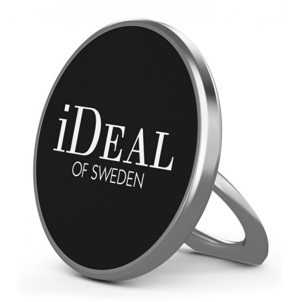 iDeal of Sweden - Magnetic Ring Mount Universal - Silver - iPhone - Samsung - Phone Holders & Magnetic Mounts