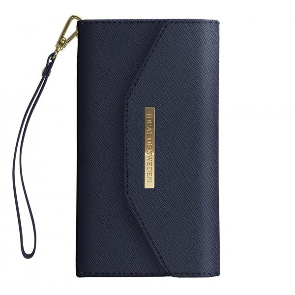 iDeal of Sweden - Mayfair Clutch Cover - Navy - Samsung S9+ - Custodia iPhone - New Fashion Collection