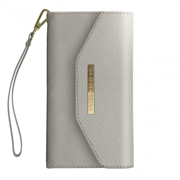 iDeal of Sweden - Mayfair Clutch Cover - Grey - Samsung S9+ - iPhone Case - New Fashion Collection
