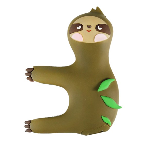 Moji Power - Sloth - High Capacity Portable Power Bank Emoji Icon USB Charger - Portable Batteries - 2600 mAh