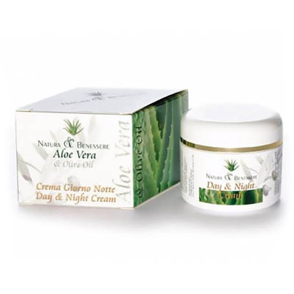 Naturalis - Natura & Benessere - Day & Night Cream - Organic Protect & Repair - Crema Idratante Bio - Aloe Vera