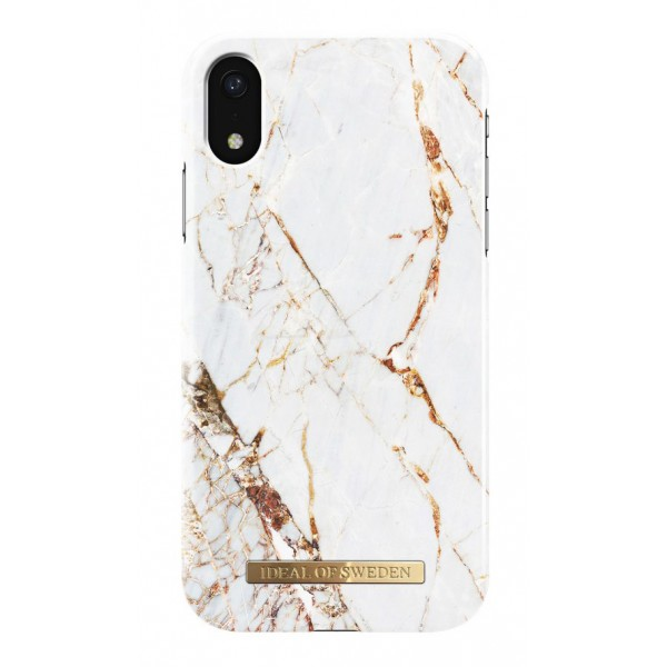 iDeal of Sweden - Fashion Case Cover - Carrara Gold - Samsung S9+ - iPhone Case - New Fashion Collection