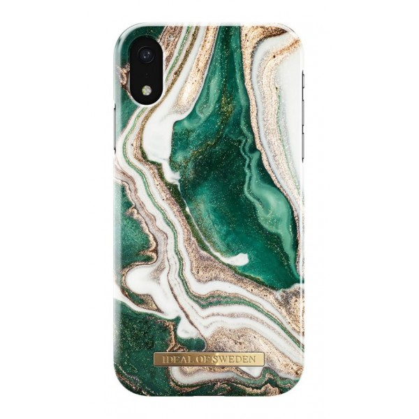 iDeal of Sweden - Fashion Case Cover - Golden Jade Marble - Samsung S9+ - iPhone Case - New Fashion Collection