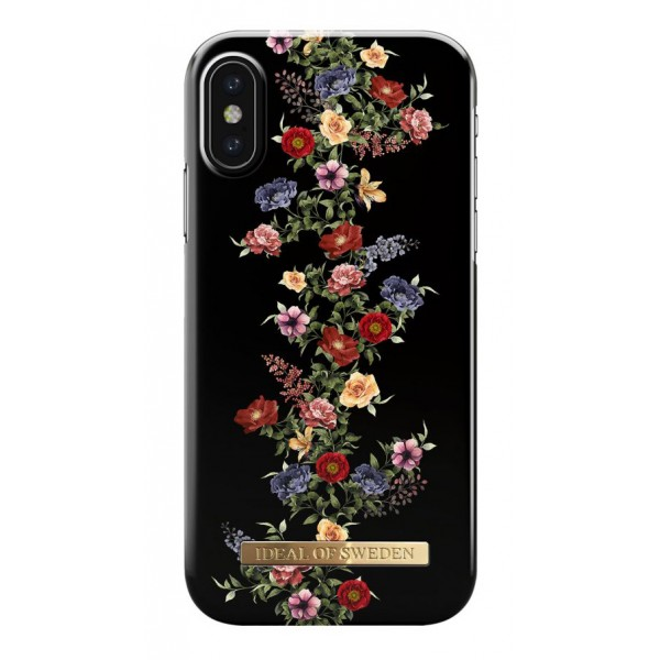 iDeal of Sweden - Fashion Case Cover - Dark Floral - iPhone X / XS - iPhone Case - New Fashion Collection - Avvenice