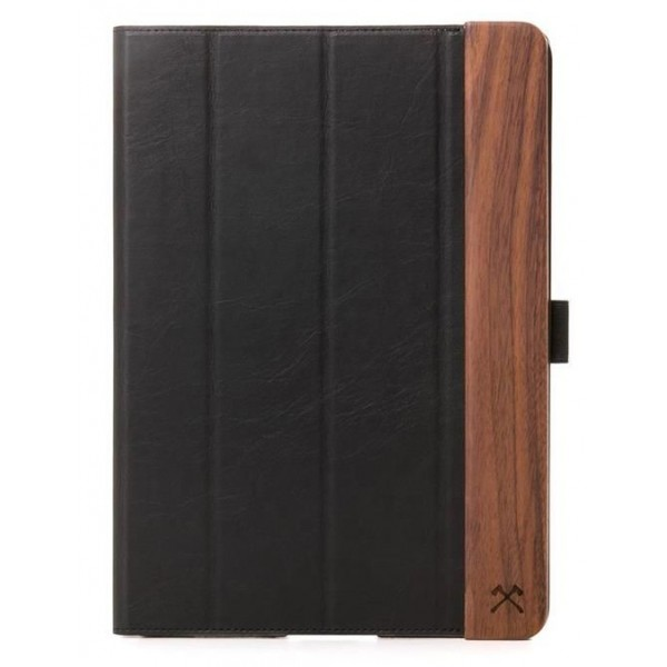 Woodcessories - Walnut and Leather Hard Cover - iPad Pro 10.5 - Flip Case - Eco Flip Leather and Wood