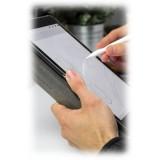 Woodcessories - Copertina Rigida in Noce e Pelle - iPad Pro 12.9 - Custodia Flip - Eco Flip Pelle e Legno