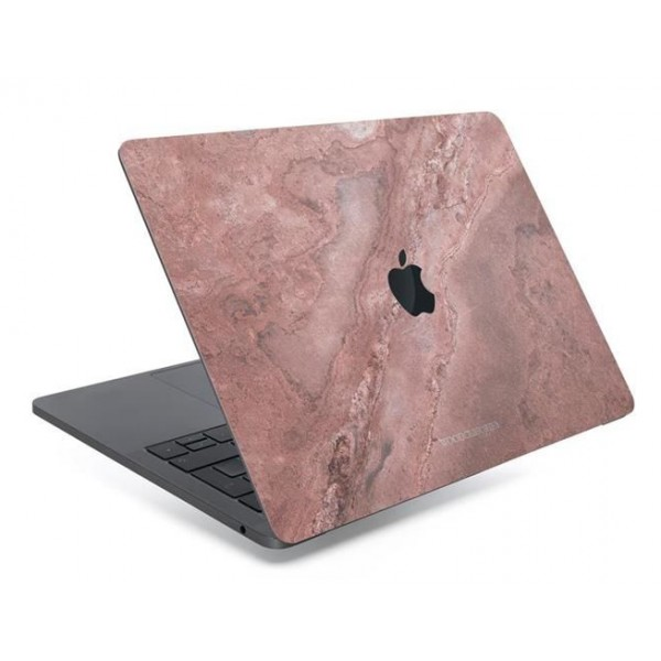 online store abb58 35b0f Woodcessories - Real Stone MacBook Cover - Canyon Red - MacBook 13 Air /  Pro - Eco Skin Stone - Apple Logo - Avvenice