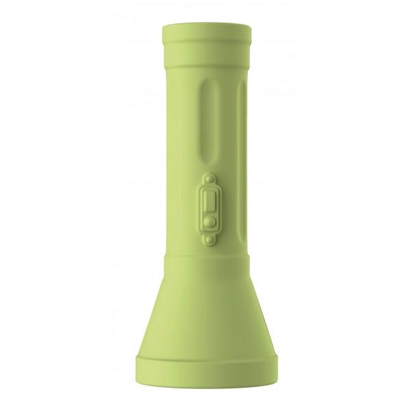Qeeboo - Flash - Verde - Carica Batteria Portatile ad Alta Capacità USB - qeeboo Mini - Batterie Portatili - 2600 mAh