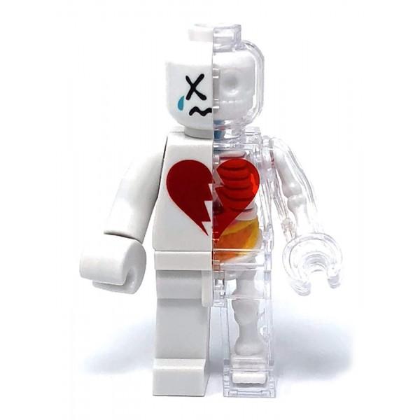 4D Master Valentine/'s Day XXRAY Brick Man Jason Freeny Red Version Love
