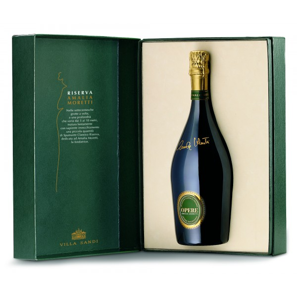Villa Sandi - Reserve Amalia Moretti - Opere Trevigiane - Gift Box - Quality Sparkling Wine Classic Method V.S.Q. Brut
