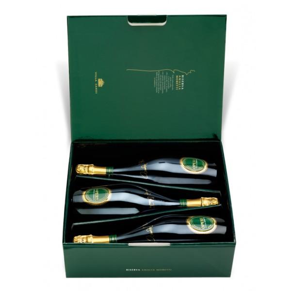 Villa Sandi - Reserve Amalia Moretti - Opere Trevigiane - Gift Box 3 Bt - Quality Sparkling Wine Classic Method V.S.Q. Brut