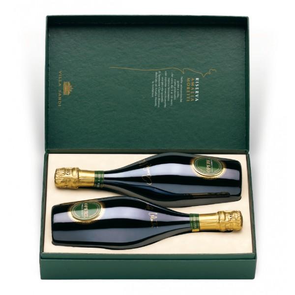 Villa Sandi - Reserve Amalia Moretti - Opere Trevigiane - Gift Box 2 Bt - Quality Sparkling Wine Classic Method V.S.Q. Brut