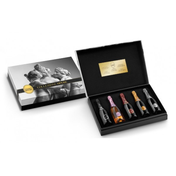 Villa Sandi - Le Tre Grazie - Opere Trevigiane - Gift Box with Five Bottles - Quality Sparkling Wine - Prosecco & Sparking Wines