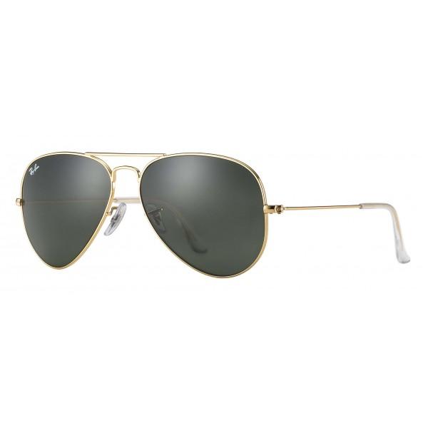 Ray-Ban - RB3025 L0205 - Original Aviator Classic - Gold - Green Classic G-15 Lenses - Sunglass - Ray-Ban Eyewear