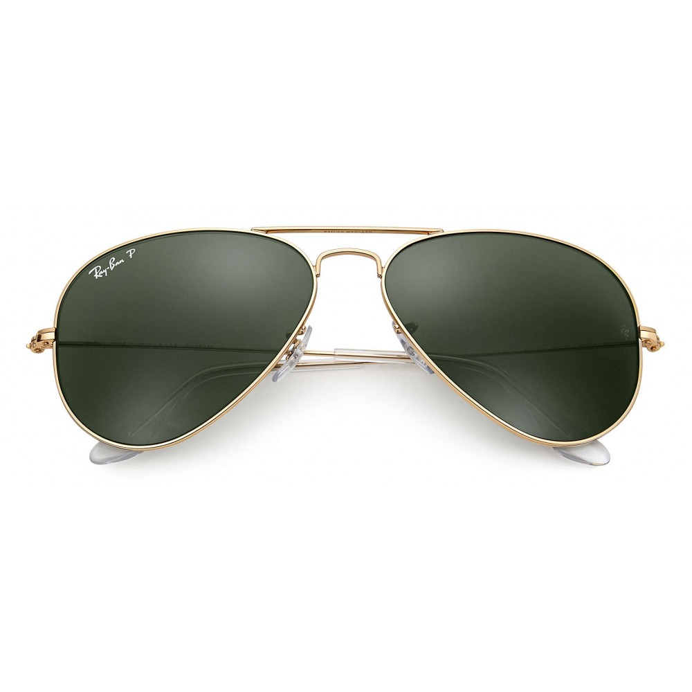 7ea09ad4de ... Ray-Ban - RB3025 001 58 - Original Aviator Classic - Gold - Polarized  ...