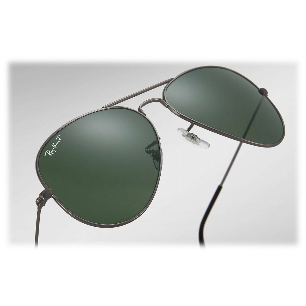 ... Ray-Ban - RB3025 004 58 - Original Aviator Classic - Gunmetal -  Polarized 77035c01c3ee