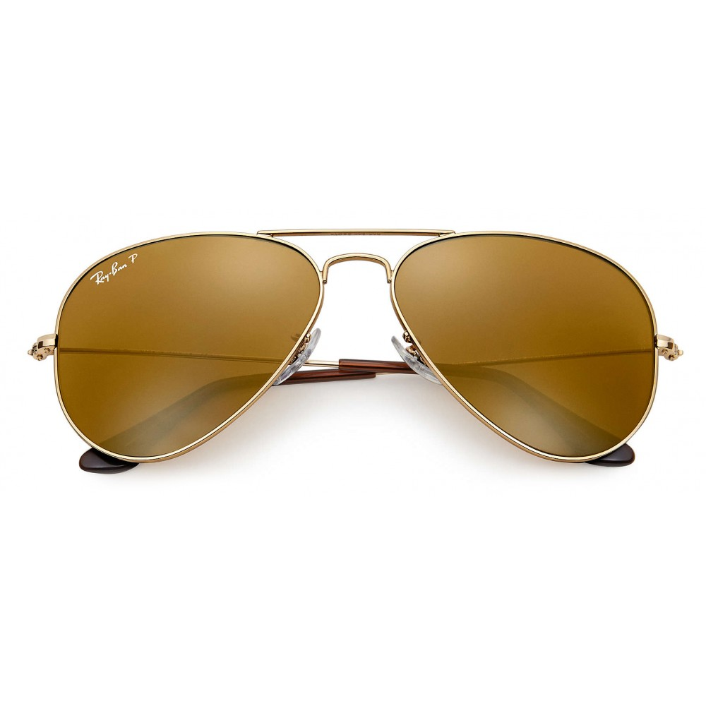 91a12e598c ... Ray-Ban - RB3025 001 57 - Original Aviator Classic - Gold - Polarized  ...
