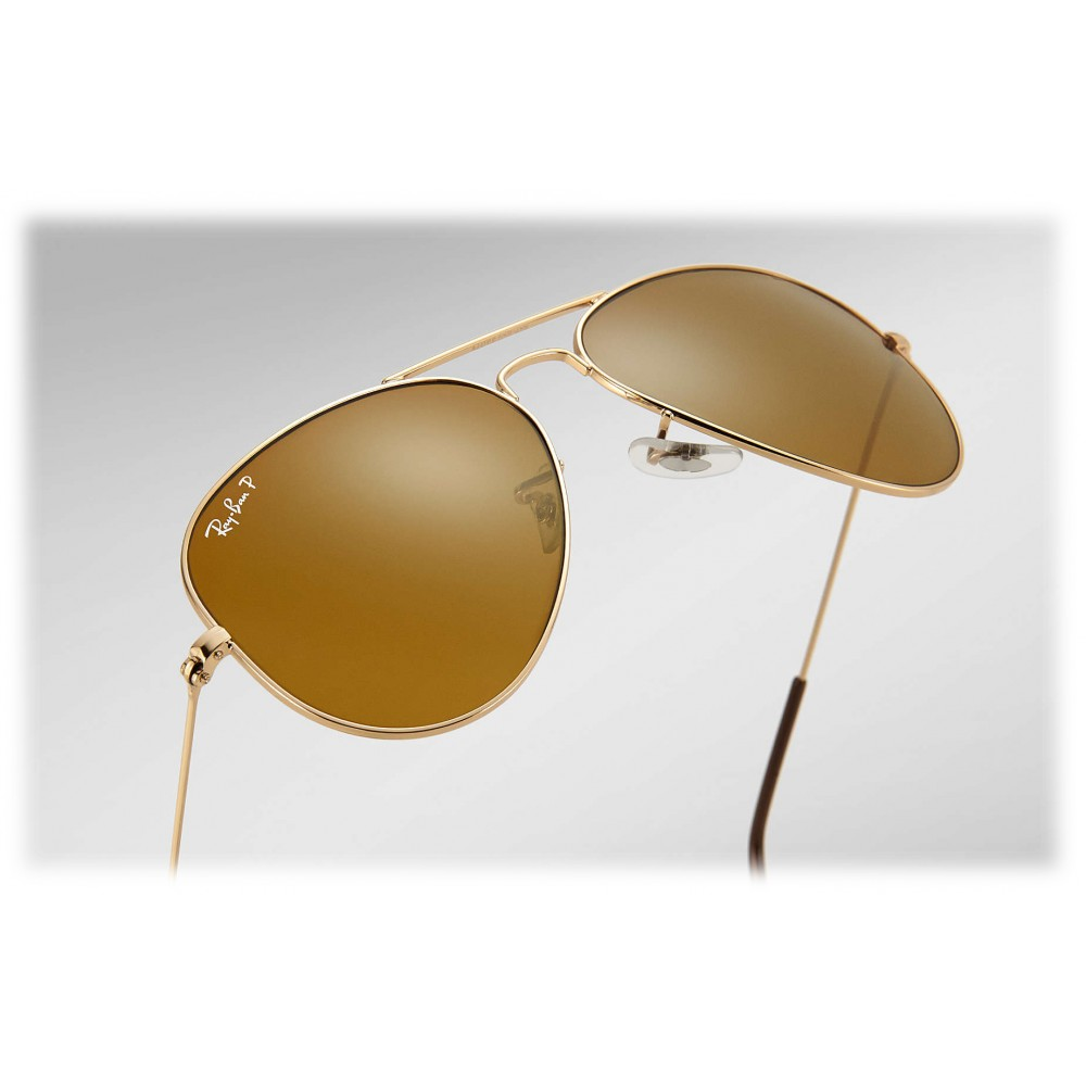 e98a876e27 ... Ray-Ban - RB3025 001 57 - Original Aviator Classic - Gold - Polarized