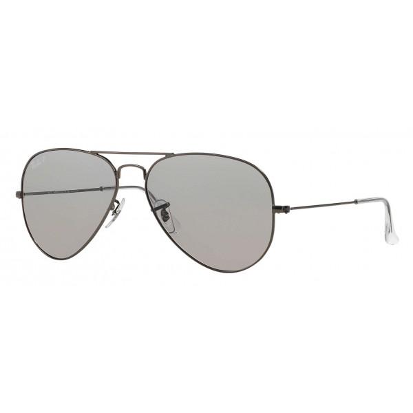 Ray-Ban - RB3025 029/P2 - Original Aviator Classic - Canna di Fucile - Lente Polarizzata Grigio - Occhiali da Sole - Eyewear