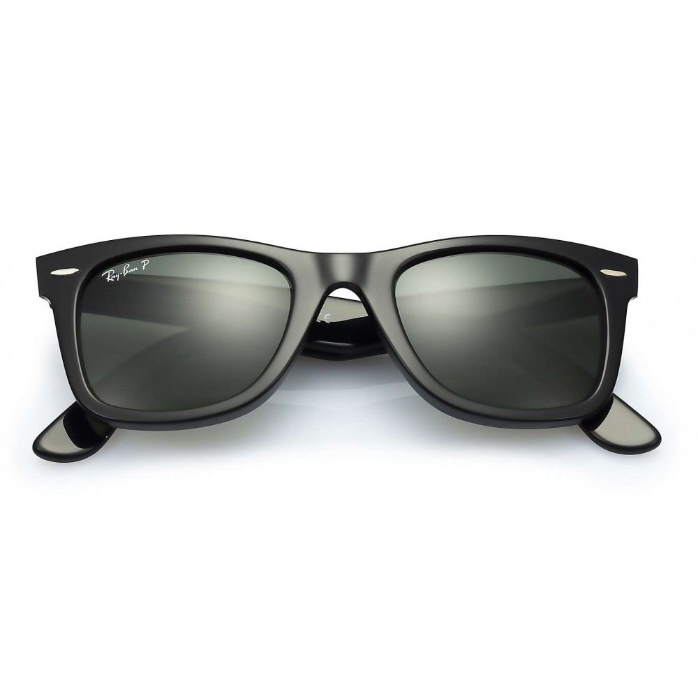 1c41cf9b7c ... Ray-Ban - RB2140 901 58 - Original Wayfarer Classic - Black - Polarized  ...
