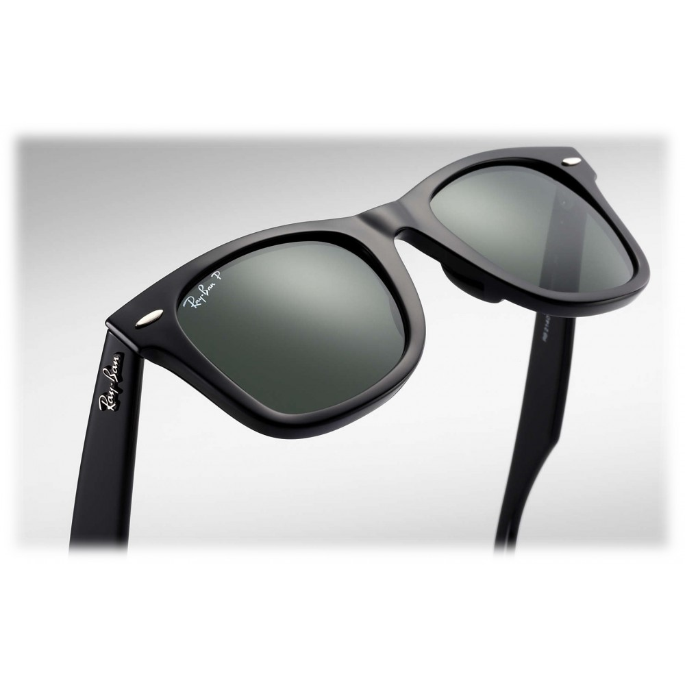 6fe35aba255 ... Ray-Ban - RB2140 901 58 - Original Wayfarer Classic - Black - Polarized  ...