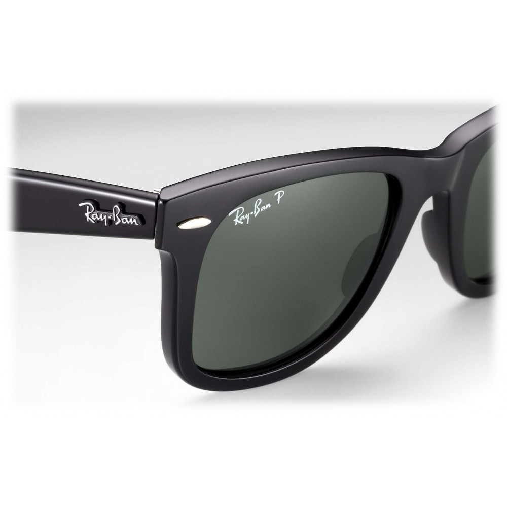8177d93169 ... Ray-Ban - RB2140 901 58 - Original Wayfarer Classic - Black - Polarized  ...