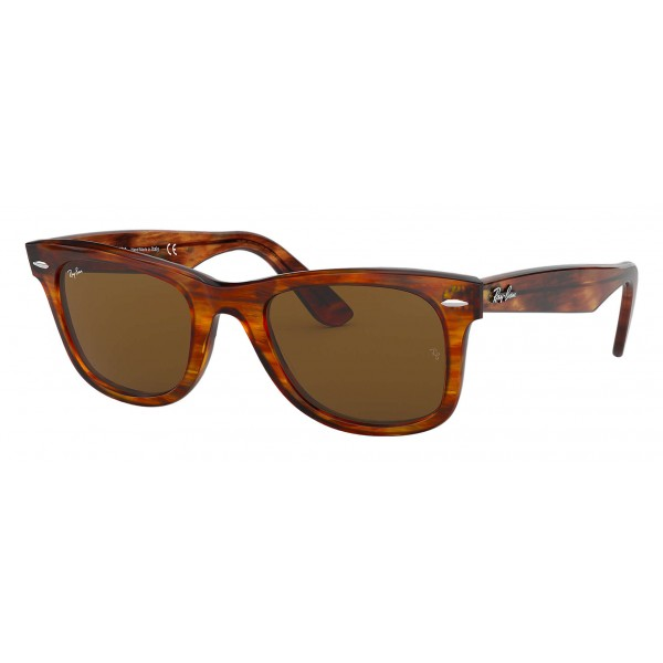 c78931ef05d Ray-Ban - RB2140 954 - Original Wayfarer Classic - Light Tortoise - Brown  Classic B-15 Lenses - Sunglass - Ray-Ban Eyewear - Avvenice