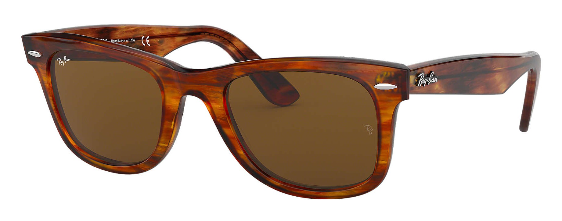 1ffc3ae6fd202 Ray-Ban - RB2140 954 - Original Wayfarer Classic - Light Tortoise - Brown  Classic B-15 Lenses - Sunglass - Ray-Ban Eyewear - Avvenice