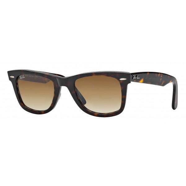 Ray-Ban - RB2140 902/51 - Original Wayfarer Classic - Tortoise - Light Brown Gradient Lenses - Sunglass - Ray-Ban Eyewear