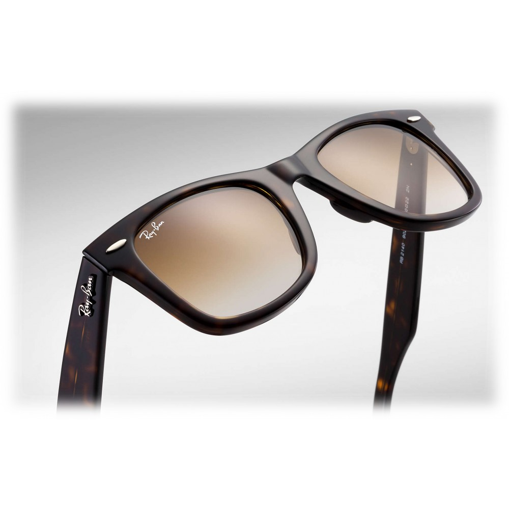 9ea4ad87614 ... Ray-Ban - RB2140 902 51 - Original Wayfarer Classic - Tortoise - Light  ...