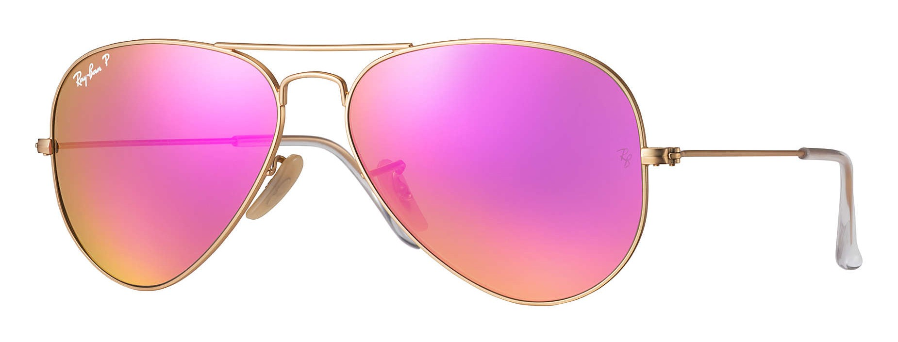 8280f0f0bd12 Ray-Ban - RB3025 112 1Q - Original Aviator Flash Lenses - Gold - Polarized Cyclamen  Flash Lenses - Sunglass - Ray-Ban Eyewear - Avvenice