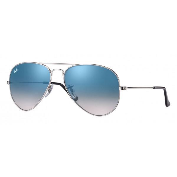 9ae1731815be6 Ray-Ban - RB3025 003 3F - Original Aviator Gradient- Silver - Light Blue  Gradient Lenses - Sunglass - Ray-Ban Eyewear - Avvenice