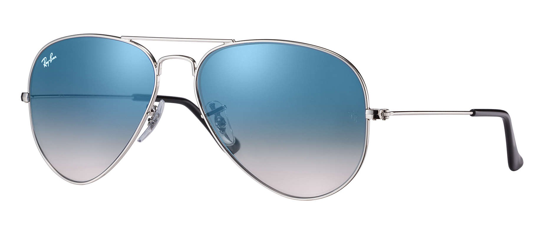 7b01eea21c Ray-Ban - RB3025 003 3F - Original Aviator Gradient- Silver - Light Blue  Gradient Lenses - Sunglass - Ray-Ban Eyewear - Avvenice