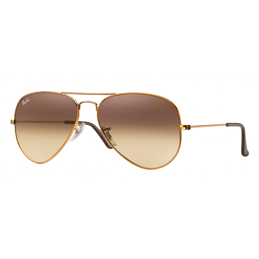 338f3f98b77 Ray-Ban - RB3025 9001A5 - Original Aviator Gradient - Bronze-Copper - Pink  ...
