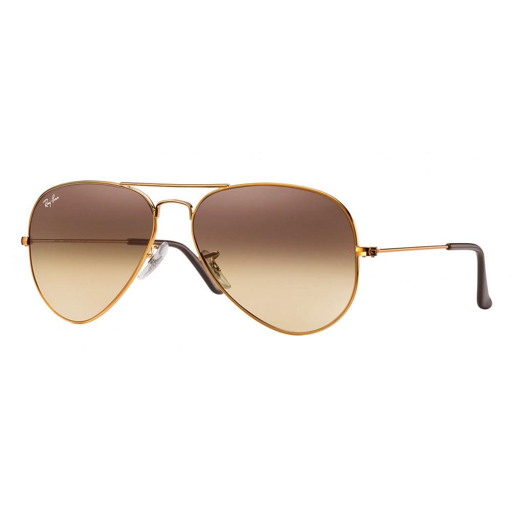 338f3f98b77 Ray-Ban - RB3025 9001A5 - Original Aviator Gradient - Bronze-Copper - Pink  ...
