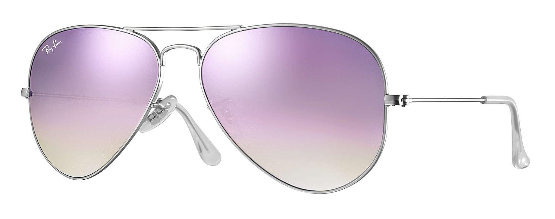 6f73044c67 Ray-Ban - RB3025 019 7X - Original Aviator Flash Lenses Gradient - Silver -  Lilac Gradient Flash Lenses - Sunglasses - Eyewear - Avvenice